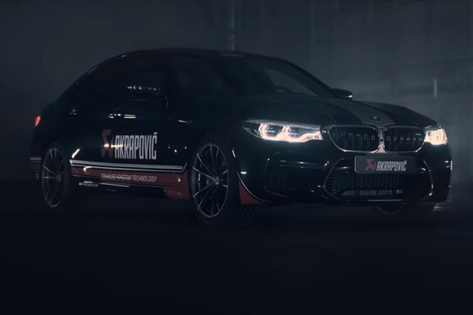 Akrapovic - BMW M5